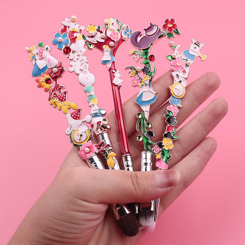 Alice In Wonderland Makeup Brush Set