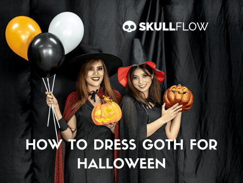 How to Dress Goth for Halloween