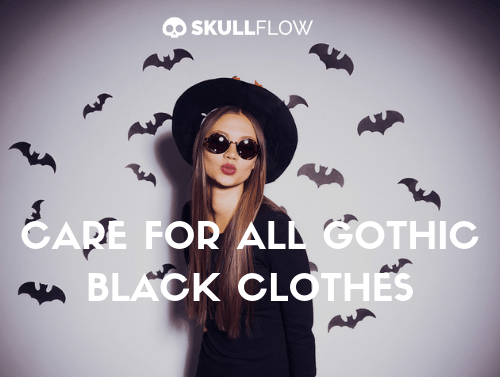 CARE FOR ALL GOTHIC BLACK CLOTHES