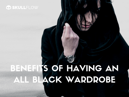 Benefits Of Having An All Black Wardrobe