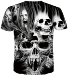 Skull Haunted T-Shirt
