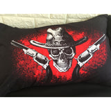 3D Skull Gun Bedding Set - Skullflow