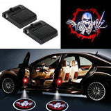 Skull Wireless Car Door LED Light- 2 PCS