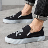 Cross Bone Reflective Shoes - Skullflow