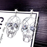 Retro Punk Skull Earrings - Skullflow