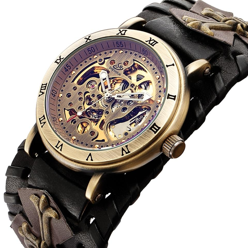 Gothic Steampunk Retro Bronze Wristwatch