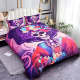 3D Printed Sugar Skull Bedding Set - Skullflow