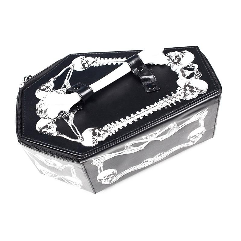 Coffin Gothic Punk Handbag