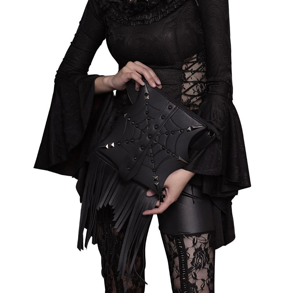 Gothic Retro Steampunk Tassel Bag