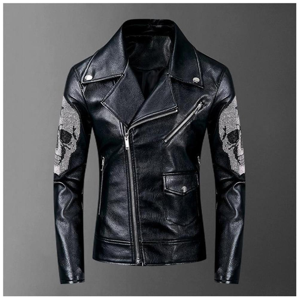 Punk Skull Leather Jacket
