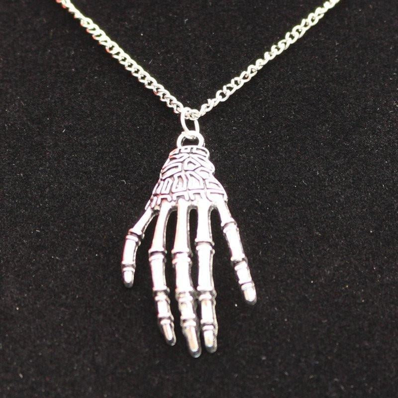 Skull Hand  Necklaces - Skullflow