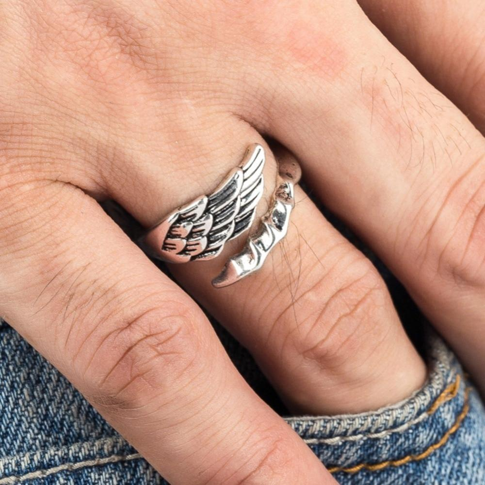 Angel Wing Open Ring
