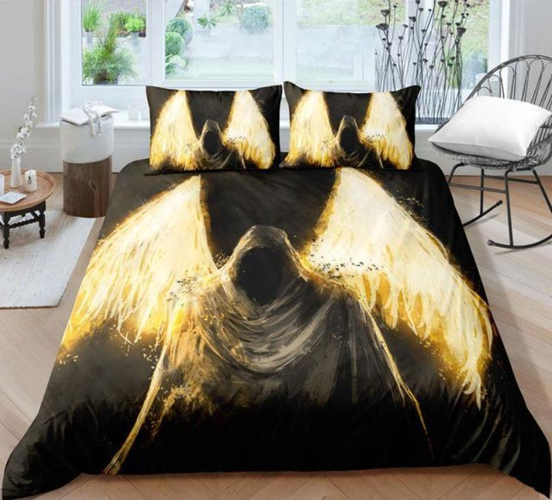 Dark Angel Bedding Set