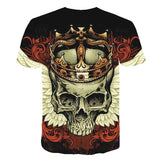 King Skull Wing T-Shirt