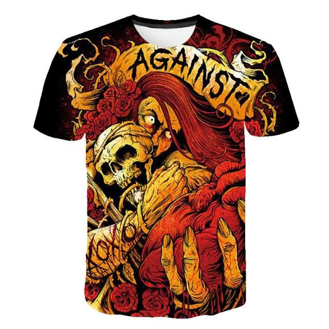 Against Skull T-Shirt