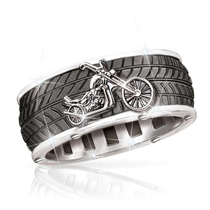 Vintage Punk Motorcycle Ring