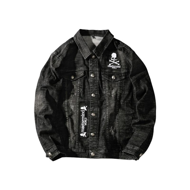 Skull Crossbone Denim Jacket