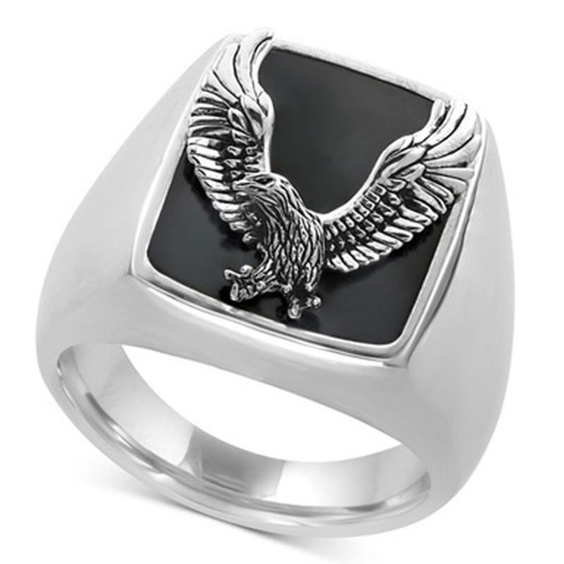 Biker Freedom Eagle Ring