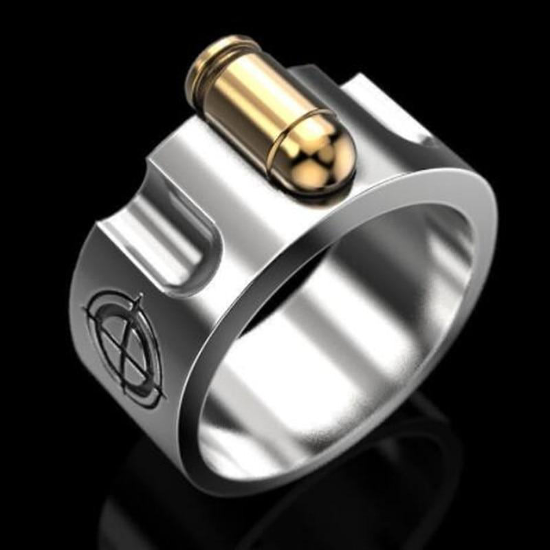 Golden Bullet Ring