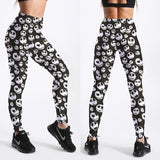 Black Pumpkin King Fitness Leggings