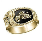 Eagle Gallop Motorcycle Ring
