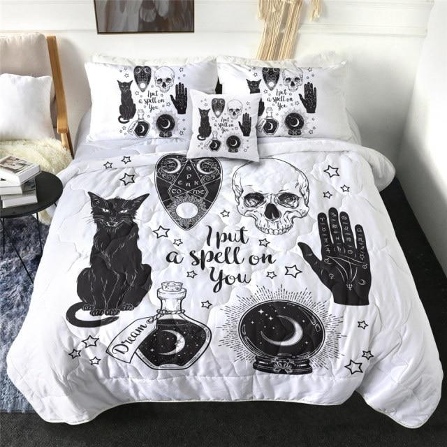 I Put a Spell on You Quilt Bedding Set