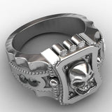 Skull Men Ring Zinc Alloy - Skullflow