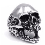 Rock Punk Skull Ring - Skullflow