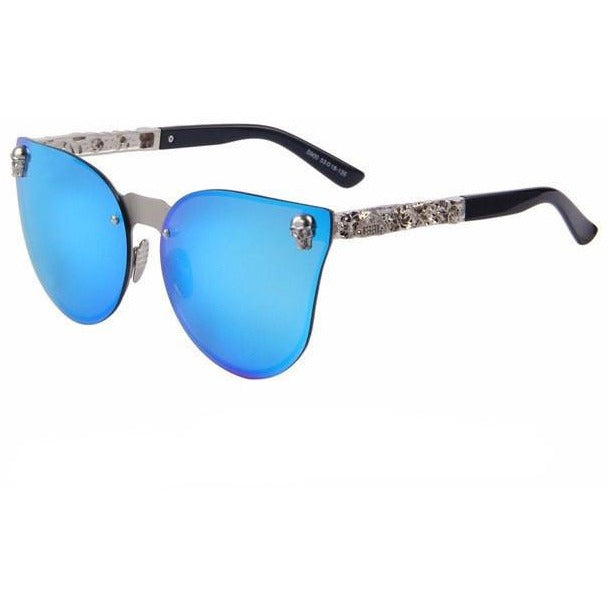 Cat Eye Gothic Skull Sunglasses - Skullflow