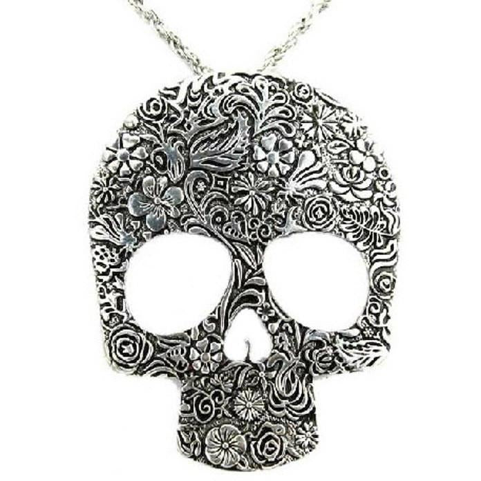 Retro Skull Necklace - Skullflow