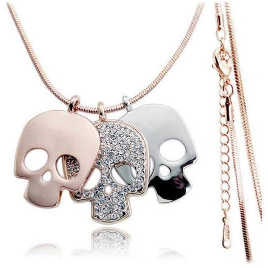 Sugar Skull Female Necklace - Skullflow