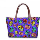 Skull Woman Handbags - Skullflow