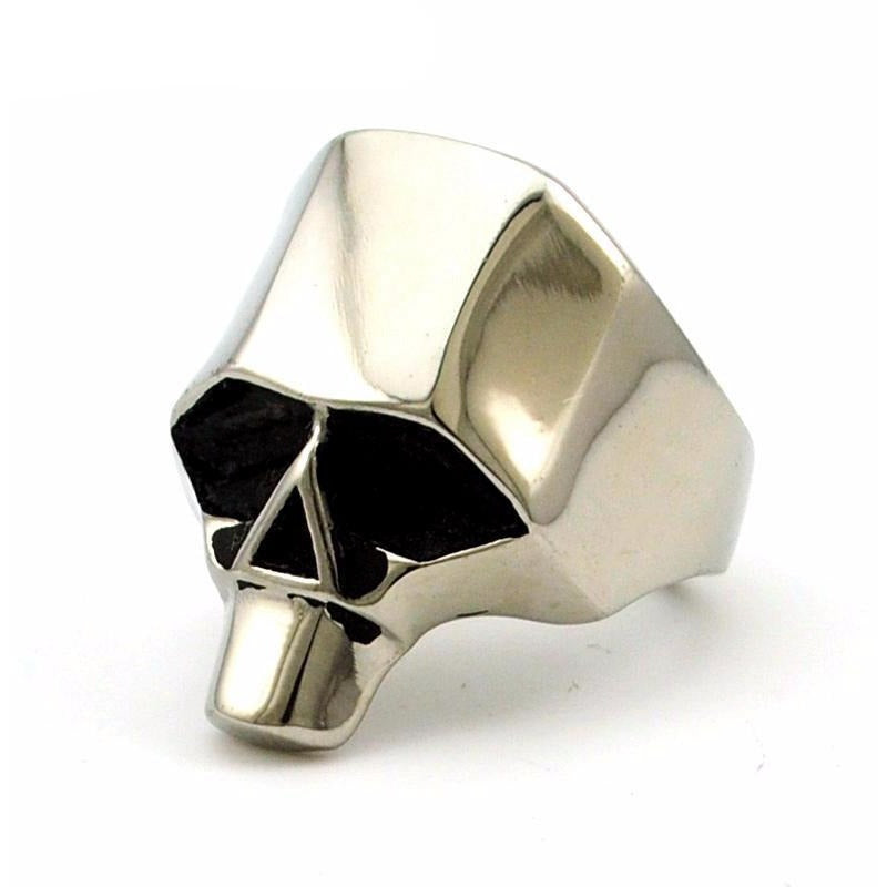 Retro Punk Skull Ring - Skullflow