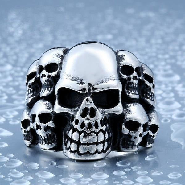 Lots Of Skull Ring - Skullflow