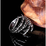 Gothic Eagle Claw Ring - Skullflow
