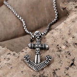 Retro Skeleton Charm Necklace - Skullflow
