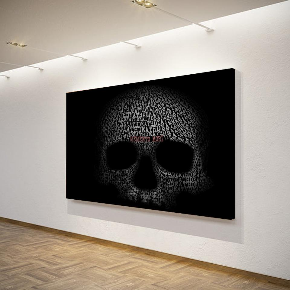 Art Poster Skull Painting Wall Art - Skullflow