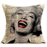 Marilyn Monroe Sugar Skull Pillow Case - Skullflow