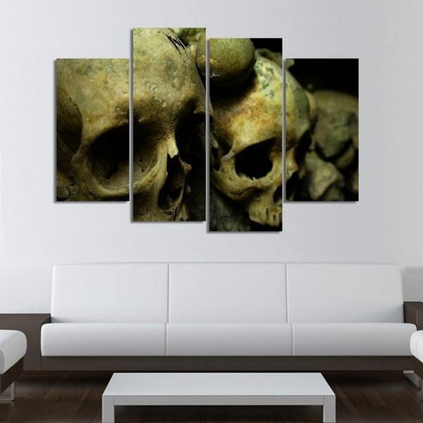 4 Panels Catacomb HD Print Canvas Painting