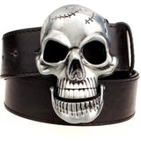 Big Skull Belt Metal Buckle - Skullflow