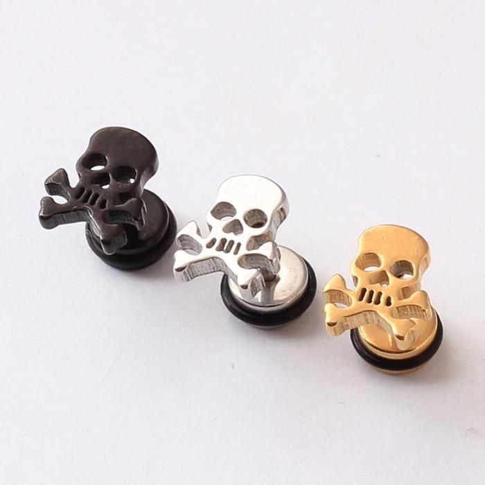 Pirate Skull Earrings - Skullflow