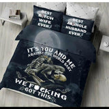 Home Textiles 3D Design Digital Printing Bedding Set - Skullflow