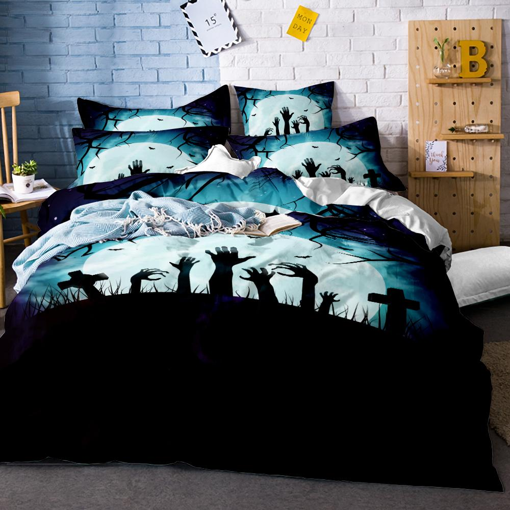 Fantasy Gothic Bedding Set - Skullflow