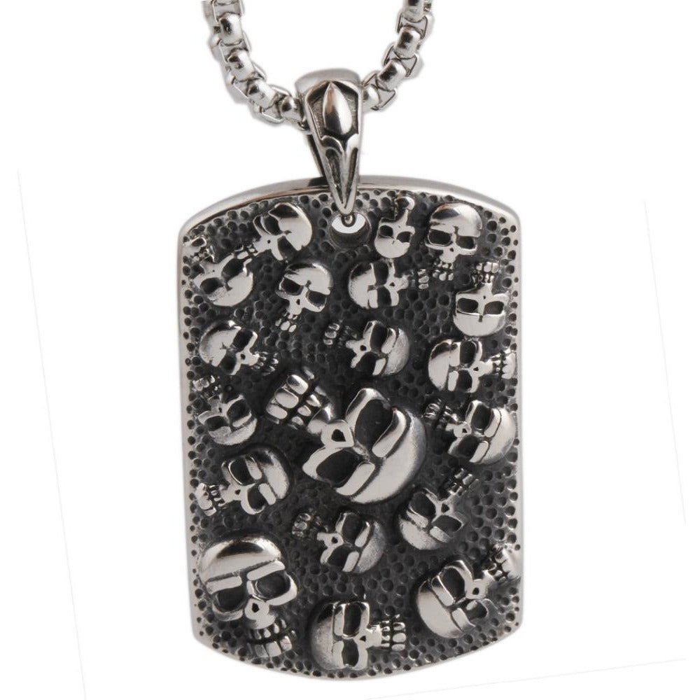 Punk Mexican Skull Necklace - Skullflow