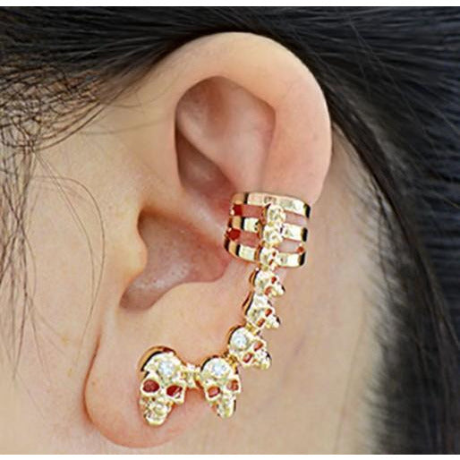 Punk Skull Stud Earrings