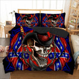 Cowboy Sugar Skull Bedding Set