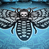 Death Skull  Moth Bedding Set - Skullflow