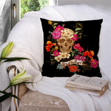 Skull Dead Day  Pillow Cover - Skullflow