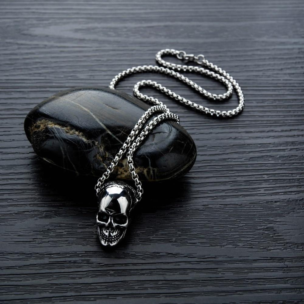 Skull Street Style Necklace