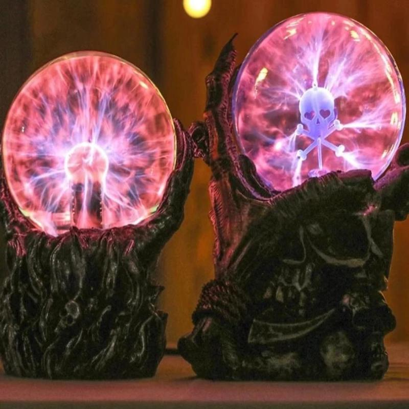 Night Light Skull Cranial Magic Ball